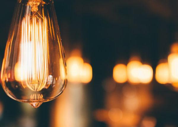 ampoule avec lumière tamisée