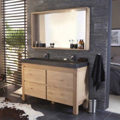 salle de bains en bois