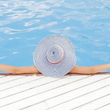 piscine bleu